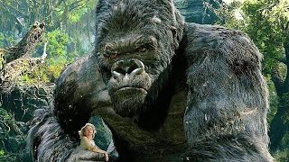 King Kong vs T-Rexes - Fight Scene - Movie CLIP [1080p 60 FPS HD]