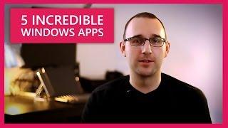 5 Incredibly Useful Desktop Apps for Windows 10!