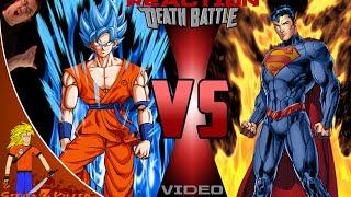 SSGSS Goku Vs Superman 2 ScrewAttack Death Battle REMATCH Reaction /Review: Steven Z KILLER