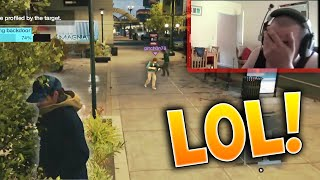 Stupid Kid Hacked While I Stand Next To A Tree! LOL Watch Dogs Live Gameplay