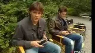 Jensen and Jared-Funny moments together