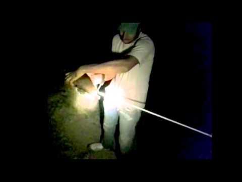 Una noche de pesca con arco