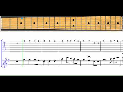 The Star Spangled Banner for guitar level 6