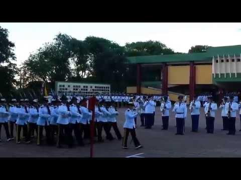 Desfile del Cuerpo de CADETES de la Academia Militar Francisco Solano Lopez