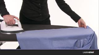 Laurastar - How to iron a shirt in 2 minutes