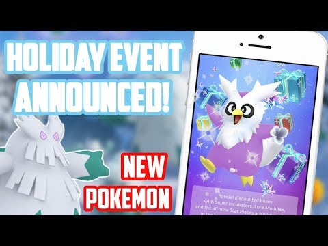 Xxx Mp4 Holiday Event Announced In Pokemon Go Including New Pokemon 3gp Sex