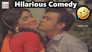 Raja Babu Hilarious Comedy Scene   Doctor Babu Movie   Cine Cafe Hub