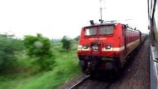 The Amazing Race.. Kanpur Shatabdi vs Dehradun Jan Shatabdi | Overtake & Re-Overtake.!