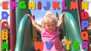 Learn English Letters! Alphabet song with Sign Post Kids!
