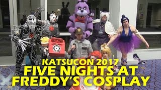 FIVE NIGHTS AT FREDDY'S Cosplay Photo Shoot - Katsucon 2017