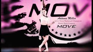 Teen Solo MOVE National Champion 2015 Autumn Miller