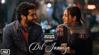 DIL JAANIYE Video | Khandaani Shafakhana | Sonakshi Sinha |Jubin Nautiyal,Payal Dev | Love Song 2019