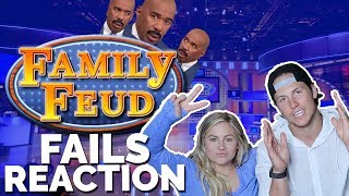 FAMILY FEUD FAILS REACTION | Shawn + Andrew
