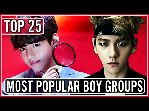 Download |TOP 25| MOST POPULAR KPOP BOY GROUPS ON YOUTUBE On Musiku.PW