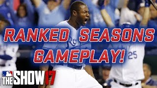 RANKED SEASONS GAMEPLAY! [MLB The Show 17 Diamond Dynasty]