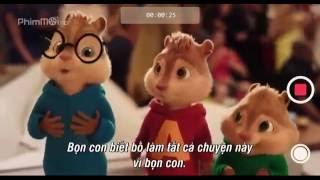 Sóc siêu quậy 4 Alvin and the Chipmunks The Road Chip 2015 Vietsub full HD phim hoạt hình