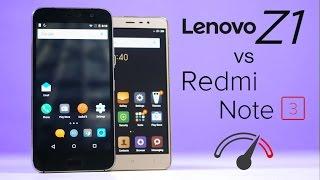 Redmi Note 3 Pro vs Lenovo ZUK Z1 Speedtest Comparison!