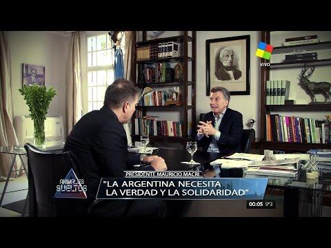 El Presidente M.Macri en