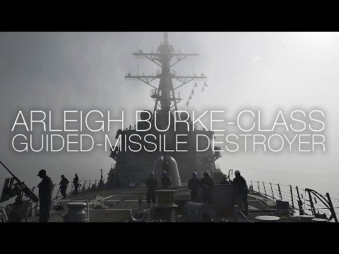 watch A Day In The Life Of A U.S. Navy Destroyer - Arleigh Burke-class USS Carney