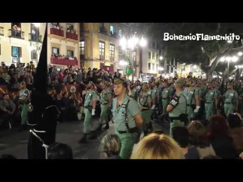 Cristo de Mena Soledad y La Legion Semana Santa Málaga 2017