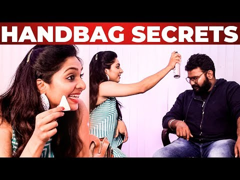 Xxx Mp4 Syamantha Kiran Handbag Secrets Revealed Vijay Tv Saravanan Meenatchi What S Inside The HANDBAG 3gp Sex