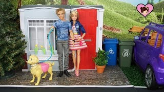 Barbie Doll and Ken Morning to Night Routine
