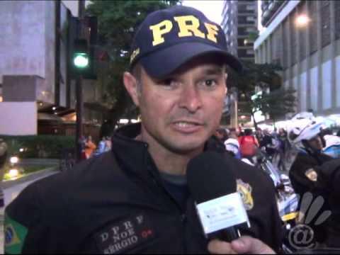 Entrevista com Sérgio Policial Rodoviário Federal JMJrio2013