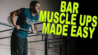 HOW TO do Muscle Ups on a Bar (WODprep Tutorial)