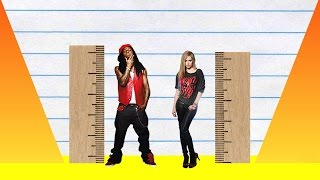 How Much Taller? - Lil Wayne vs Avril Lavigne!