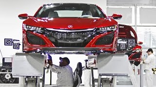 CAR FACTORY: 2017 Acura NSX - Made in USA (Performance Manufacturing Center)