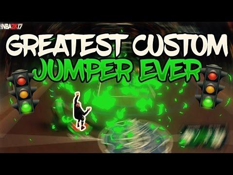 THE GREATEST CUSTOM JUMPSHOT EVER ! | NBA 2K17 MYPARK | SHARPSHOOTER GOD | SPEEDBOOST | PULLING DEEP