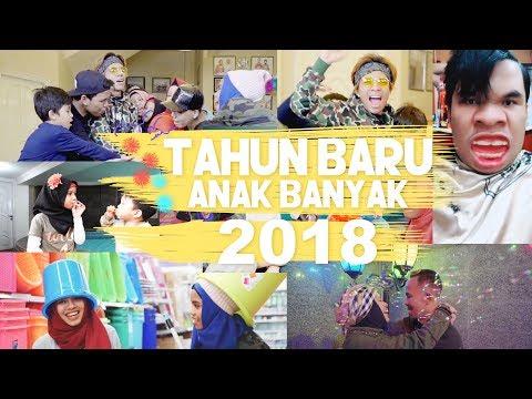 Tahun Baru Anak Banyak + Tik Tok Challenge 2018