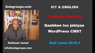 Qaabkee loo jebin karaa WordPress CMS?
