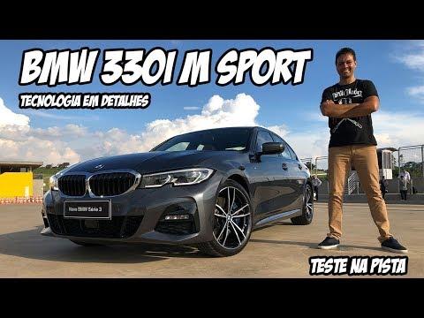 Novo BMW Série 3 acelerei a versão 330i M Sport e brinquei com as muitas tecnologias do sedã