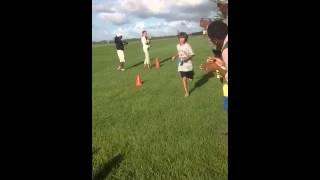 Jay race finish