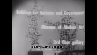 MUSEUM OF MODERN ART  BUILDINGS FOR BUSINESS AND GOVERNMENT EXHIBITION 1957  62794