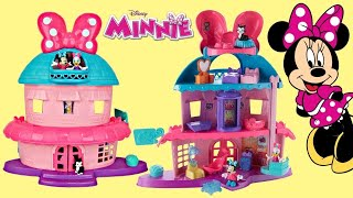 Minnie Mouse Magical Bow-Sweet Mansion House / Daisy, Mickey, Peppa Pig, Pluto Toy Surprises / TUYC