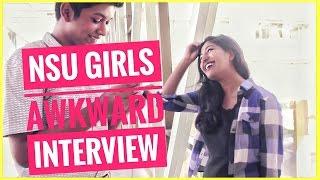 "Al Numan- ""Awkward Interview with NSU Girls"""