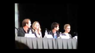 Stephen Moyer and Alexander Skarsgard Get In Trouble: True Blood Comic Con 2012