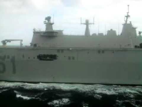juan carlos 1 portaaviones español miliciano