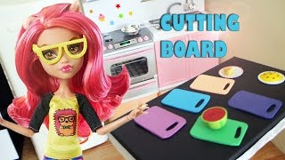 How to make a doll cutting board - Doll Crafts - simplekidscrafts - simplekidscrafts