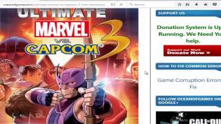 How to download Ultimate Marvel vs Capcom 3 for free
