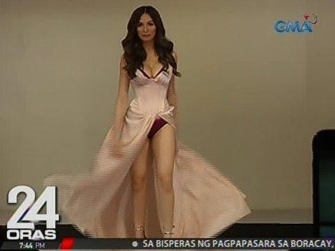 24 Oras: Jennylyn Mercado, nagpasiklab sa underwear fashion show ng isang clothing brand