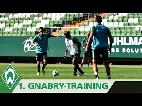 Serge Gnabry 1. Werder-Training I SV Werder Bremen