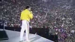 queen - live at wembley ( part1)