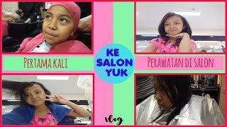 KE SALON YUK BARENG KEIRA CHARMA ♥ OUR FIRST HAIRCUT SALON EVER!