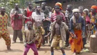 Rwanda - Pygmy Dance near Ruhengeri