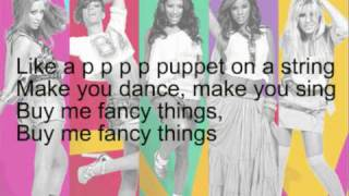 The Saturdays - Puppet (with lyrics)