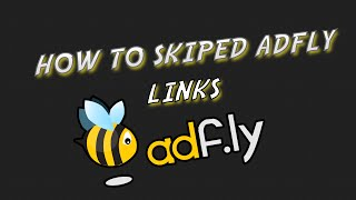 HOW TO SKIP ADFLY LINKS IF ADFLY DOESN'T WORK! I 2016