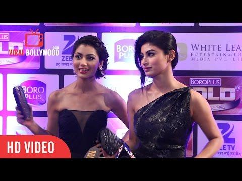 Xxx Mp4 Mouni Roy Sriti Jha Pragya At Zee Gold Awards 2016 3gp Sex